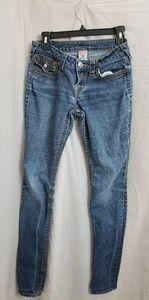 True Religion 28 skinny jeans